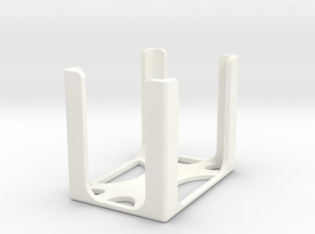 Game Card Holder - No Label in White Processed Versatile Plastic