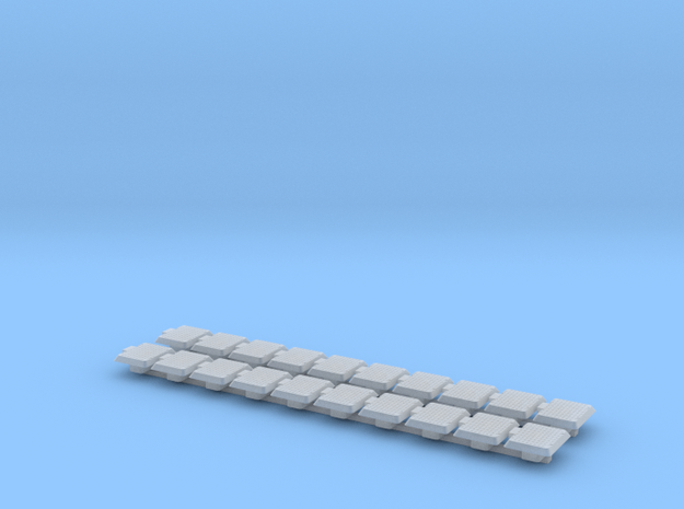 Railtrafo 20 stuks (1:87) in Smooth Fine Detail Plastic