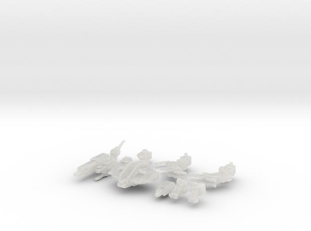 C-SAV-0 Savitri Luminos (alt. D) in Smooth Fine Detail Plastic
