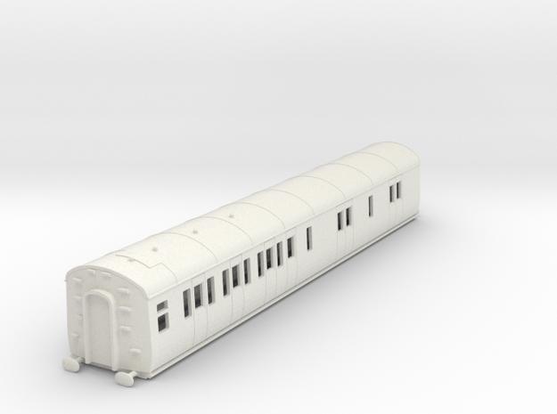o-87-gwr-d94-lh-brake-3rd-coach in White Natural Versatile Plastic