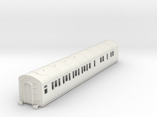 o-43-gwr-d95-lh-brake-3rd-coach in White Natural Versatile Plastic