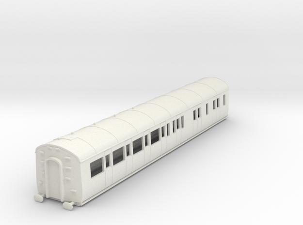 o-76-gwr-d95-rh-brake-3rd-coach in White Natural Versatile Plastic