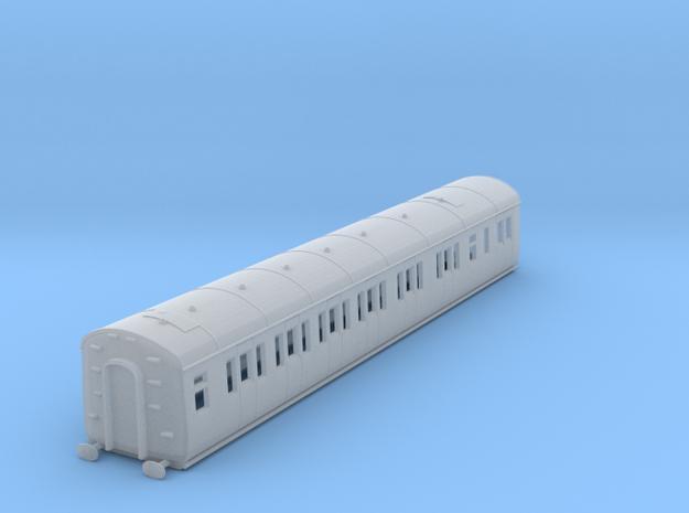 o-148fs-gwr-e128-lh-brake-comp-coach in Smooth Fine Detail Plastic