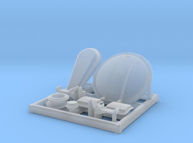 Upgrade kit for original style Bachmann LNER/BR V2 in Smooth Fine Detail Plastic
