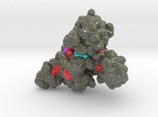 PQBP1 in Glossy Full Color Sandstone