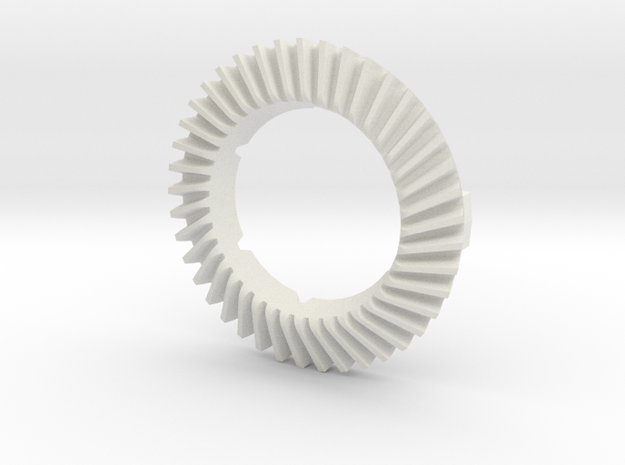Climax RingGearF509-G - 1-12th Scale in White Natural Versatile Plastic