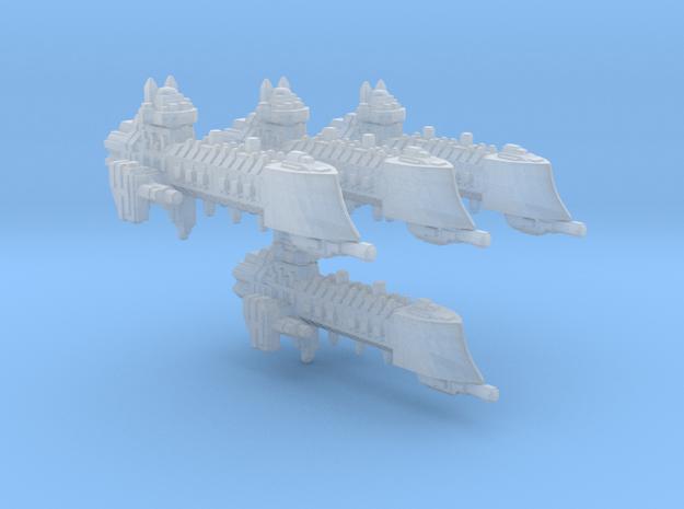 BFG Dauntless Class cruiser/4 models, fleet scale