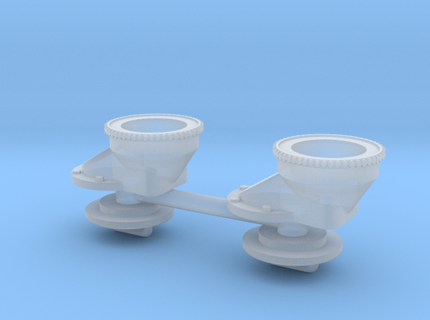 LRAS-3 mount base in Smooth Fine Detail Plastic