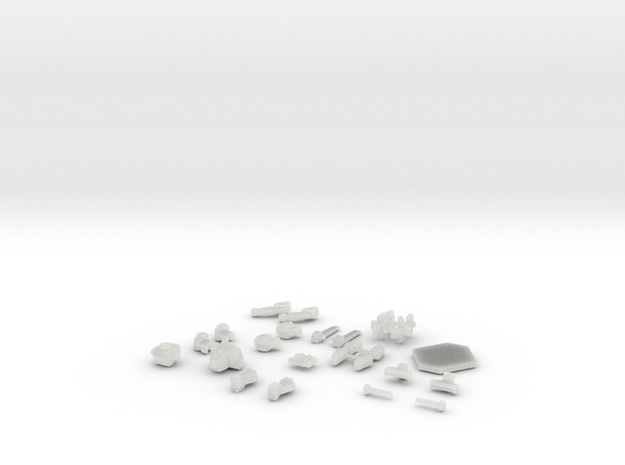 "LifterMech ""MULE"" in Smooth Fine Detail Plastic"