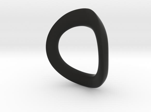 JNada Pendant in Black Premium Versatile Plastic