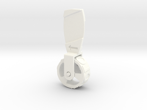 #YOLO #YOLO - Stamp Roller in White Strong & Flexible Polished