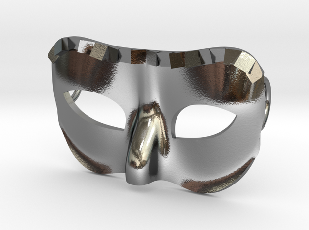 Masquerade in Polished Silver