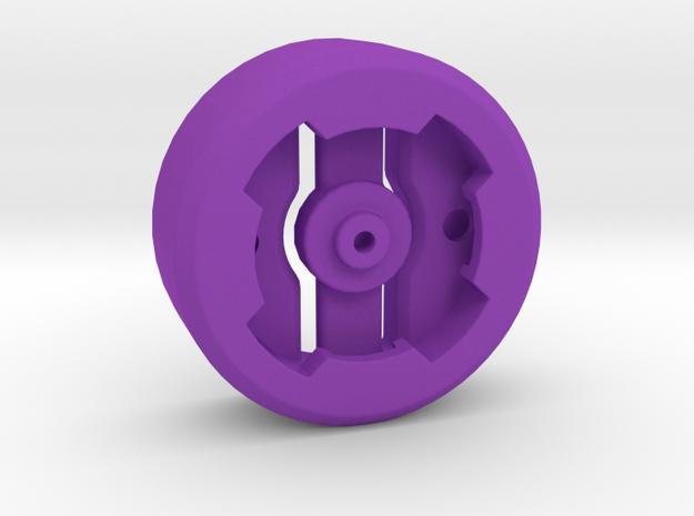 Lezyne GPS Garmin OEM Insert in Purple Processed Versatile Plastic