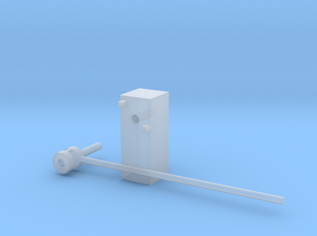 1-50 Barrier in Smooth Fine Detail Plastic
