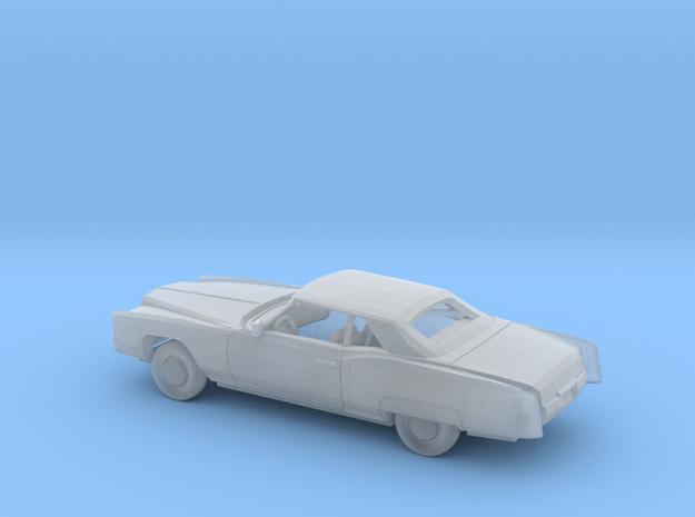 1/160 1971-73 Cadillac Eldorado Convertible Kit in Smooth Fine Detail Plastic