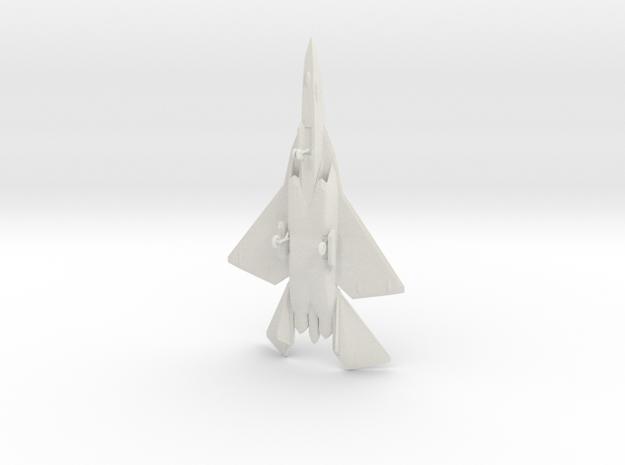 F/A-44E Aruval Stealth Fighter w/Landing Gear in White Natural Versatile Plastic: 1:200