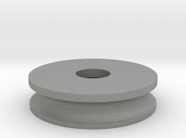 70mm Wheel-Replica Nut in Gray PA12