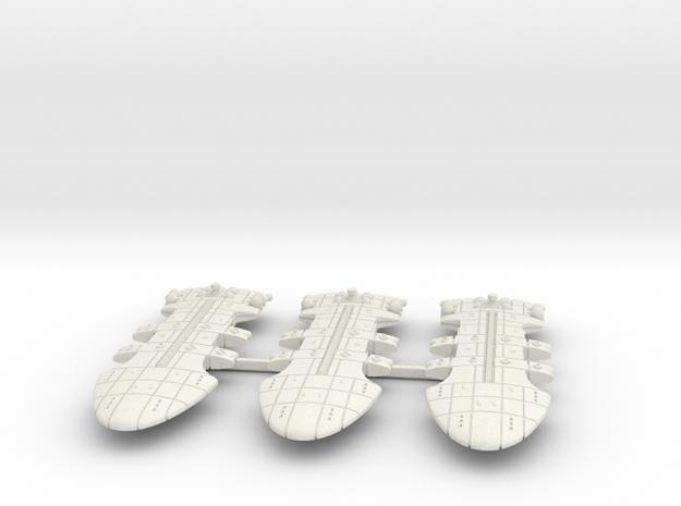Rigellian (RPSA) Battlecruiser Datagroup (sprued) in White Natural Versatile Plastic