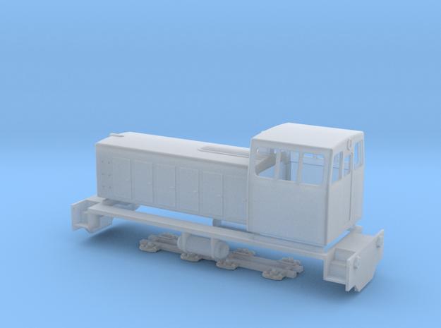 TU7 diesel locomotive in Smooth Fine Detail Plastic: 1:87 - HO