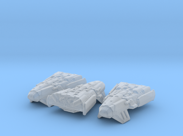 Zimbalian Freighter 1/20000 x3 in Smooth Fine Detail Plastic