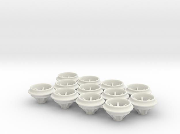 O-Ring_Felgen_10x238mm in White Natural Versatile Plastic