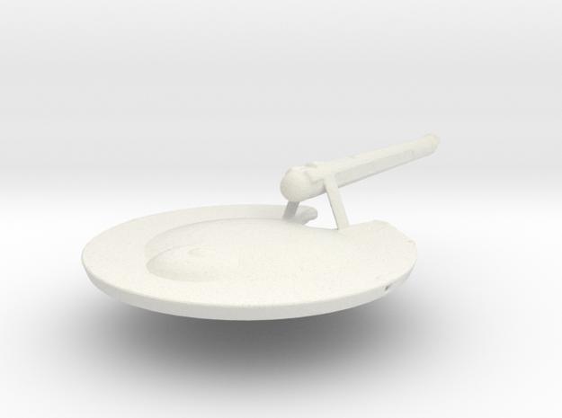 Uss Viking in White Natural Versatile Plastic