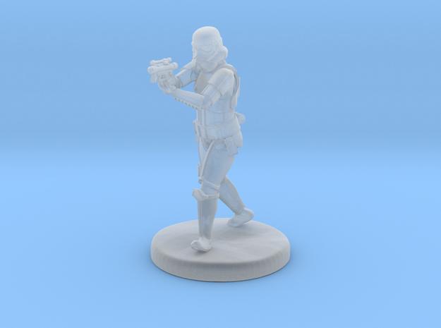 Storm Trooper Mini figure 003 in Smooth Fine Detail Plastic