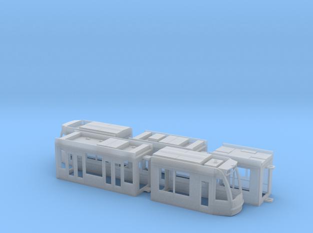 Amsterdam Combino 13G in Smooth Fine Detail Plastic: 1:120 - TT