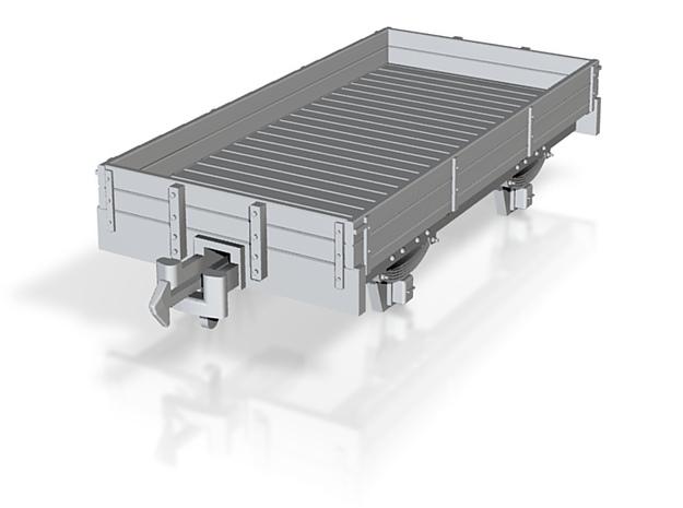 TTn3 2plank dropside wagon 3d printed