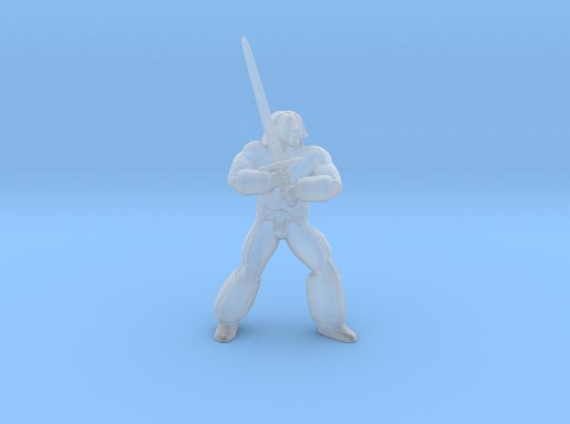 Golden Axe Ax Battler miniature DnD fantasy games in Smooth Fine Detail Plastic