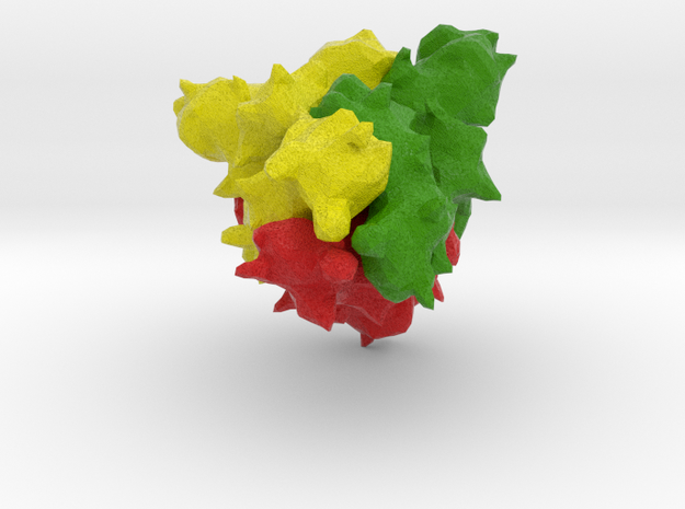 CoVID19 Spike Glycoprotein 2 in Natural Full Color Sandstone