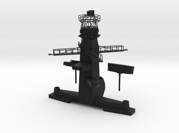 1/72 scale Type 23 Front Main Mast in Black Natural Versatile Plastic
