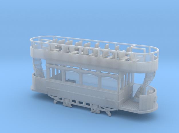 3mm scale Lowestoft Tram 14  in Smooth Fine Detail Plastic
