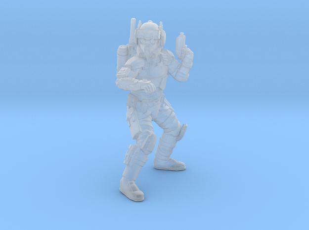 Rough Rider Engineer in Smooth Fine Detail Plastic
