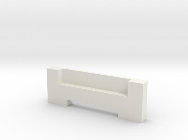 Life3D Capsule - Camera Plate Holder P2 in White Natural Versatile Plastic