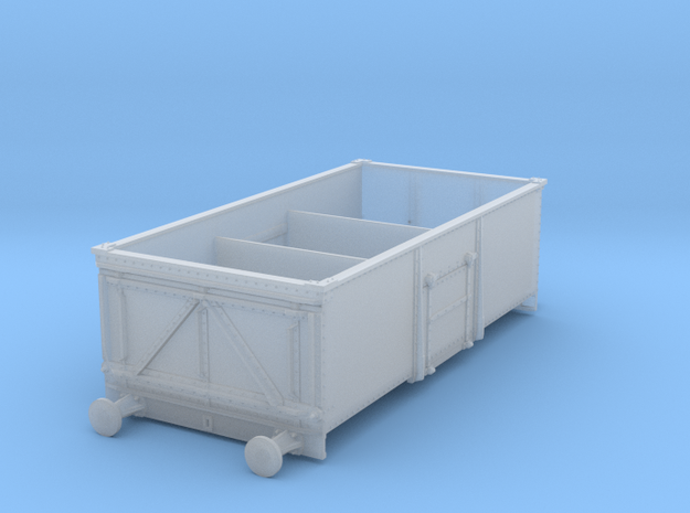 Steel built, private owner 13t mineral wagon in 3m in Smoothest Fine Detail Plastic