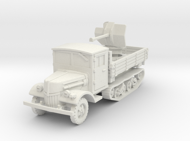 Ford V3000 Maultier Flak 38 late 1/72 in White Natural Versatile Plastic
