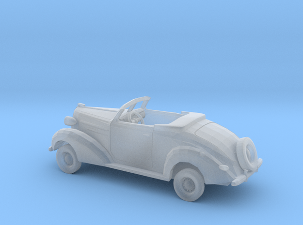 1/87 1936 Chevrolet Convertible Kit in Smooth Fine Detail Plastic