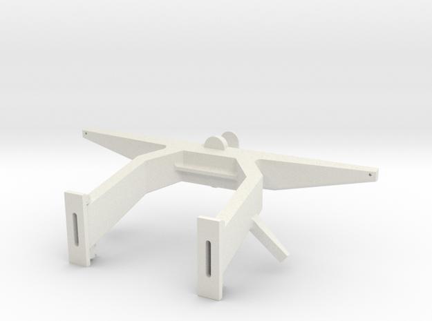 Antennemast, schaal 1:16 in White Natural Versatile Plastic