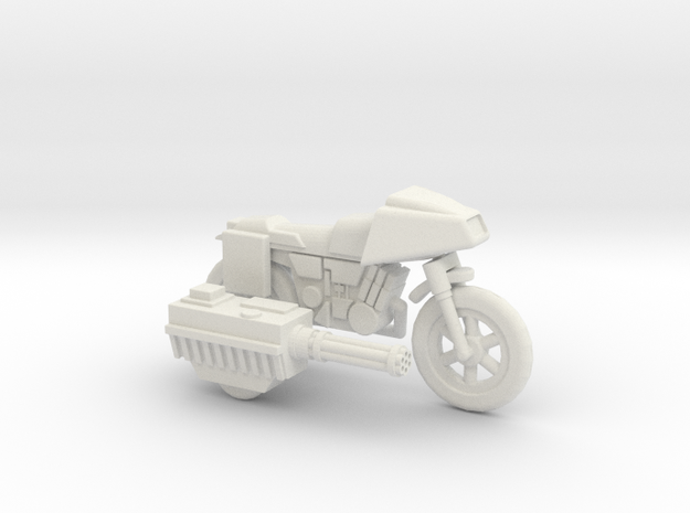 GV13 Armed SF Motorcycle (28mm) 3d printed