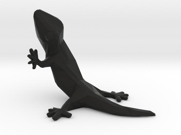 gecko in Black Natural Versatile Plastic