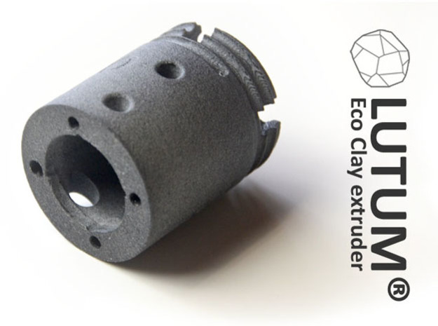 LUTUM® eco Extruder Motor Connector in Gray PA12