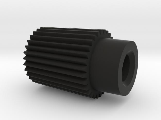 Trip Reset Knob Smiths Magnetic Speedo Replica 196 in Black Natural Versatile Plastic