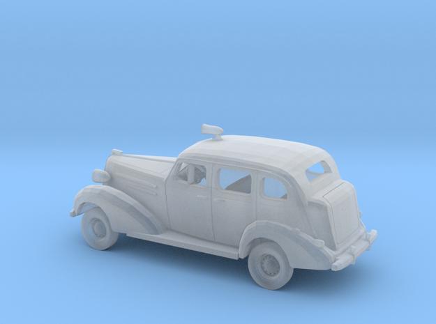 1/87 1936 Chevrolet Sedan Police Kit in Smooth Fine Detail Plastic