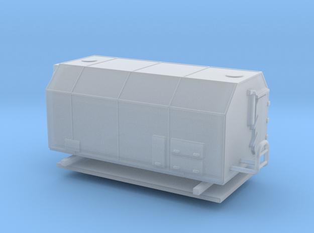 1:120 NVA IFA W50 Koffer Felddruckerei  in Smooth Fine Detail Plastic