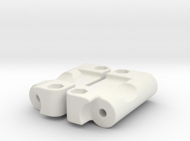 D2 Dyna Blaster / Dyna Storm / TR-15T reinforced in White Natural Versatile Plastic