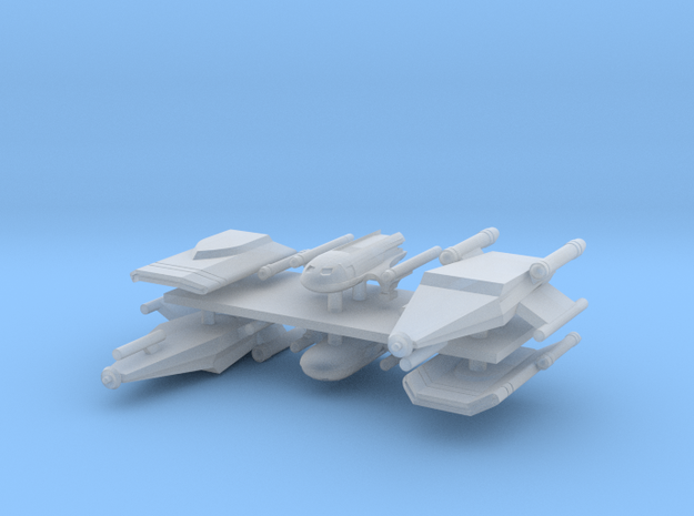1/1000 TAS shuttle pack in Smooth Fine Detail Plastic