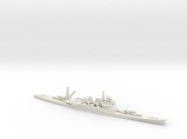 Japanese Takao-class Cruiser in White Natural Versatile Plastic: 1:600