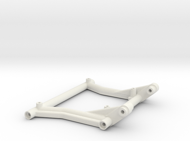 Rear Center Brace with Sway Mount Exo Terra Buggy in White Natural Versatile Plastic
