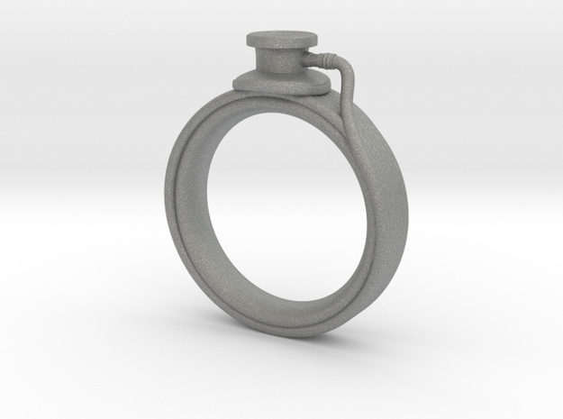 Stethoscope Ring in Gray PA12: 7 / 54